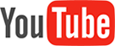 YouTube logo with link